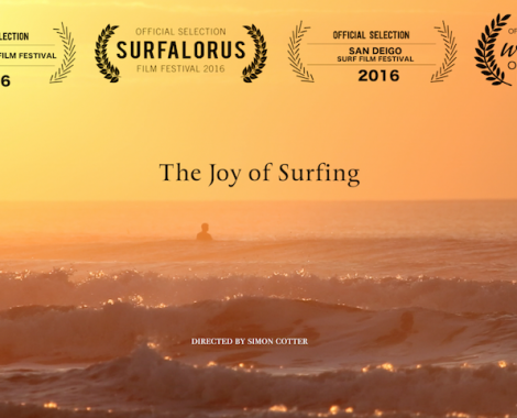 Surfing across the world, captured by filmmaker Simon Cotter, for Ruwac Productions